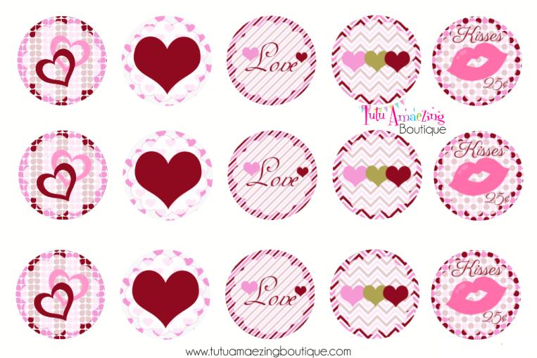 Valentine's Day Hearts BCI Sheet
